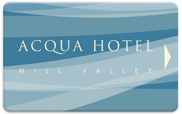 Triple | Keytag | Card | Combo | Acqua Hotel | Mill Valley